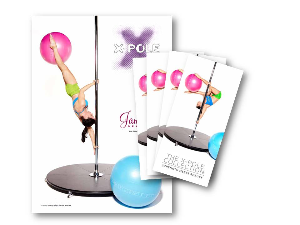 dance pole brochure